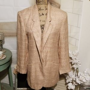 Evan Picone Vintage Pastel colored Jacket Size 12